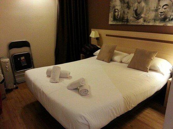 Hostal Barcelona Centro : Room clean n comfy