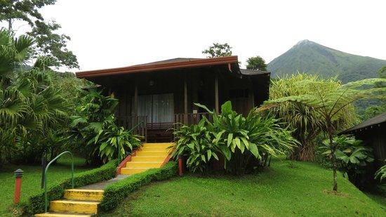 Hotel Lomas del Volcan : Casita por fuera