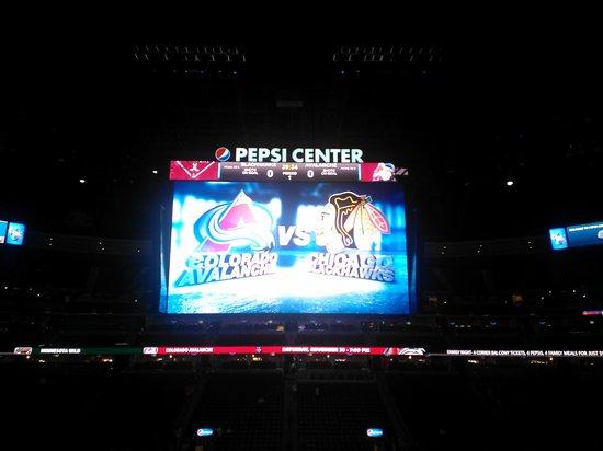 Pepsi Center: Hockey game
