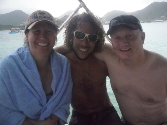 Captain Alan's Three Island Snorkeling Adventure: Gervais with us!