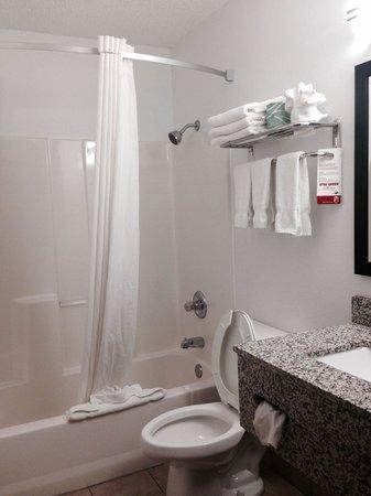 Baymont Inn & Suites Cedar Rapids: Clean bathroom