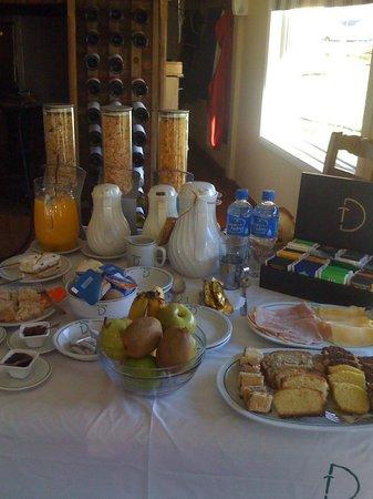 Complejo Turistico Lo de Tomy: Desayuno, glup!