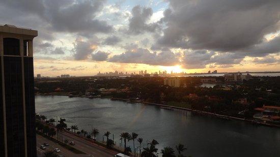 Grand Beach Hotel : Aussicht nach Miami