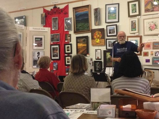 A Work of Art Gallery & Gifts: Regional storytelling at 606 Gallery, the first Tuesday of each month