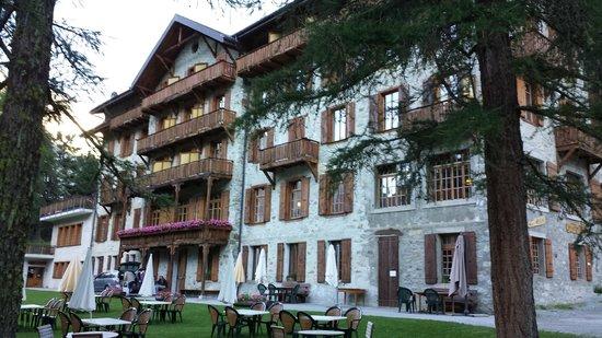 Grand Hotel Kurhaus : The hotel