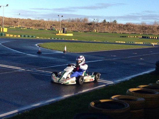 Karting North East: Owner kart on the main track