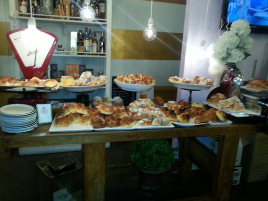 Il Barrino: La colazione