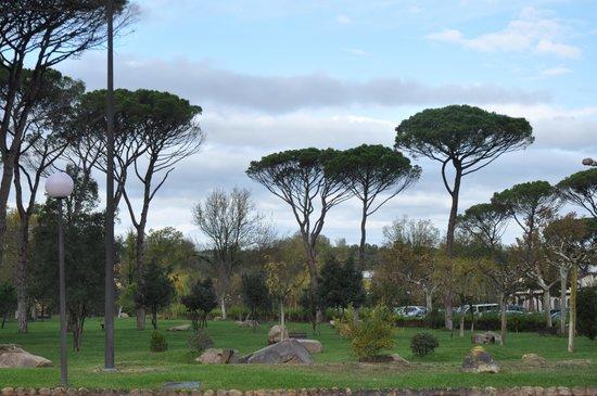 Hotel Balneario Vichy Catalan : Vista de los jardines