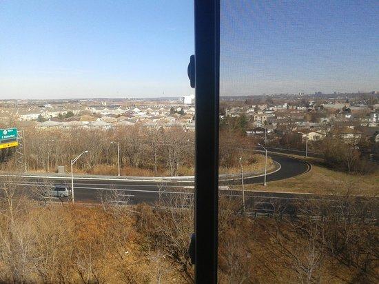 Meadowlands Plaza Hotel-Secaucus: Vista da janela