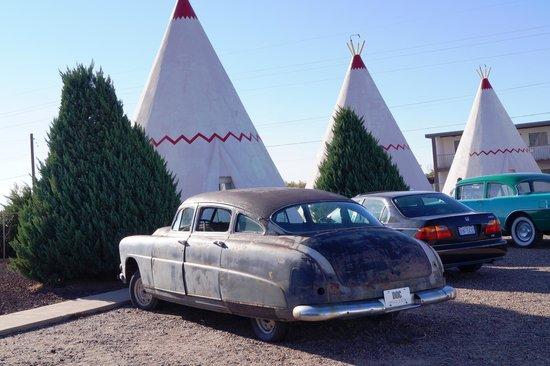 "Wigwam Motel: ""DOC"" ala Cars movie"