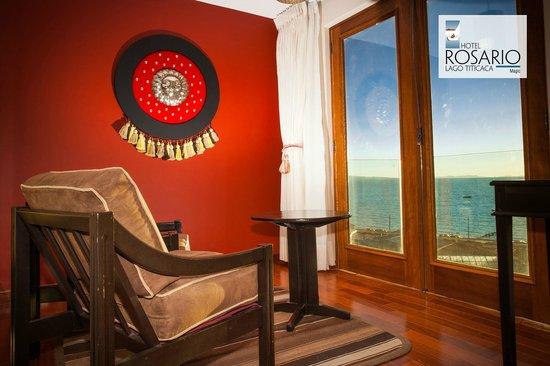 Hotel Rosario Lago Titicaca: Individual terrace
