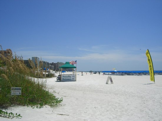 Eagle's Nest on Marco Beach: The white sands of Marco Island