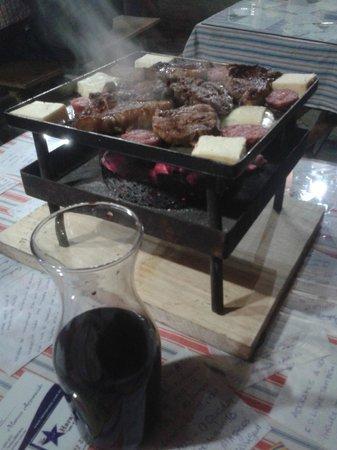 Restaurante Galpão Costaneira : Janta.