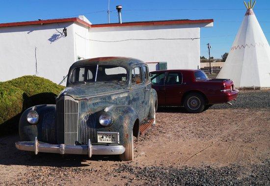 Wigwam Motel : Packard