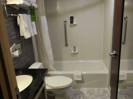 Hampton Inn Manhattan-Chelsea: baño.