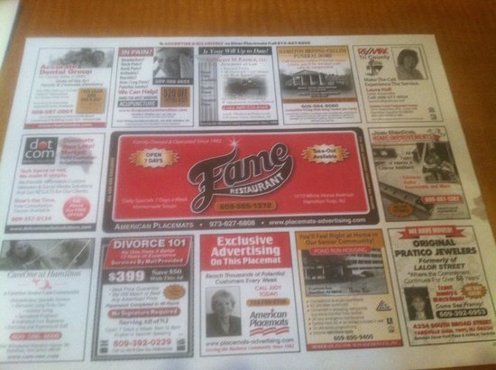 Fame Restaurant: BOOM