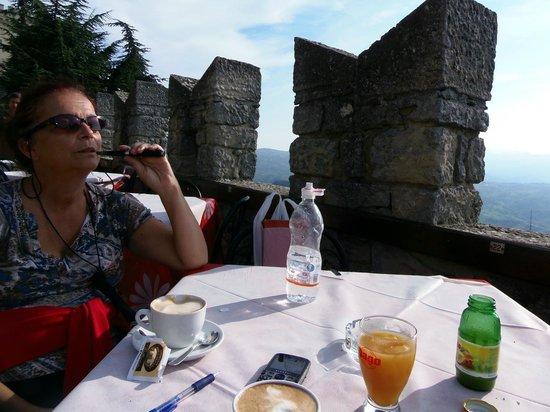 La Terrazza : enjoying the view