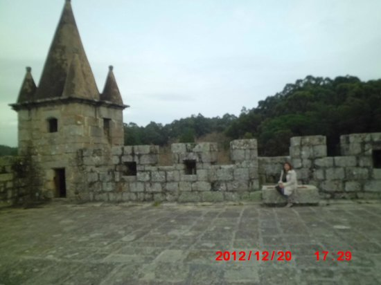 Castelo de Santa Maria da Feira - Parte superior