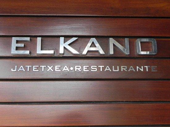 Restaurante Elkano: Sigue anclado en la esquina...
