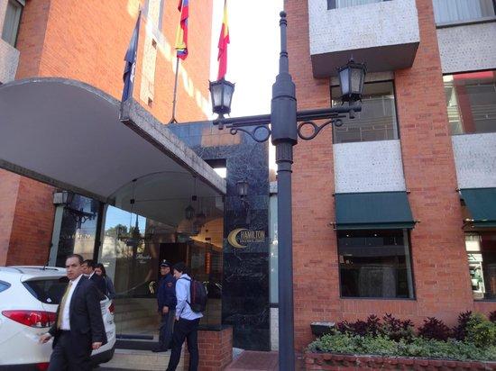 GHL Hotel Hamilton: Entrada do Hotel