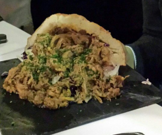 Cafe Drudenfuss : Pork pulled bun
