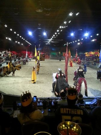 Medieval Times : Inside the Arena
