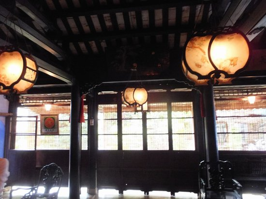 The Tran Family Home and Chapel : Beautiful Lanterns