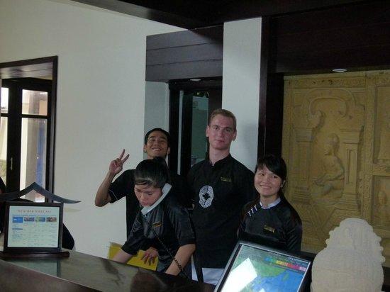 Victoria Hoi An Beach Resort & Spa : Reception staff all excellent