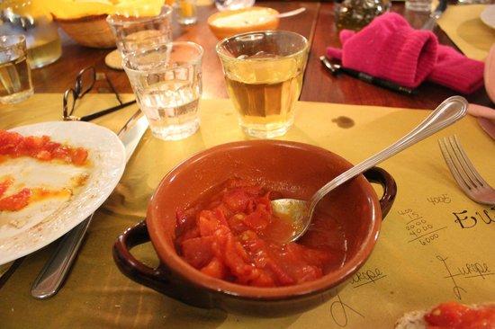 Osteria Il Campanellino: amazing fresh marinara