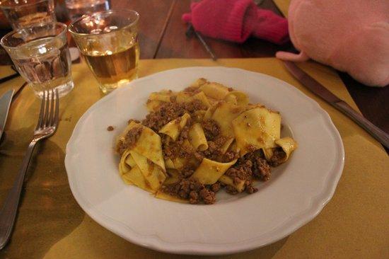 Osteria Il Campanellino: meat spaghetti
