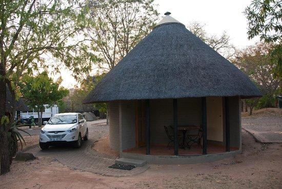 Pretoriuskop Restcamp: A cabin