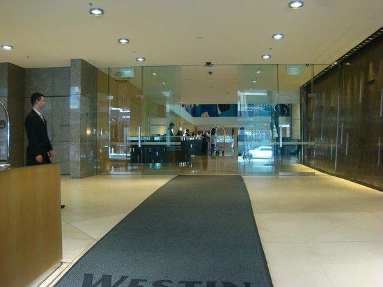 The Westin Sydney : Hall d'accueil