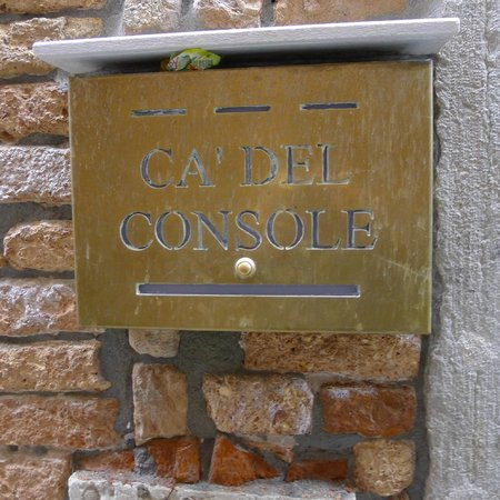 Locanda Ca' del Console: Entrance to proprty