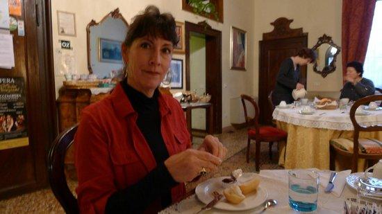 Locanda Ca' del Console : Breakfast Parlor