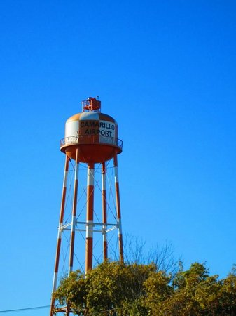 WWII Aviation Museum : airport water tower