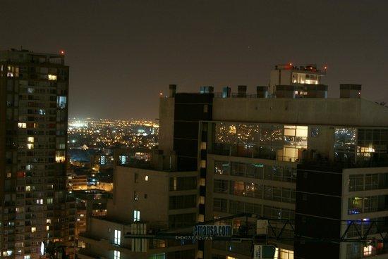 RQ Santiago: Vista do 22° andar.