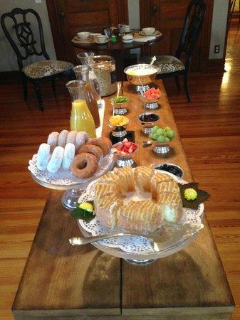 Fordham House: Underbar frukost
