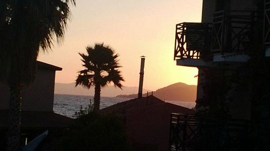 Bahar : Sunset from balcony