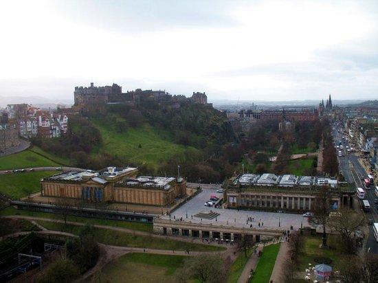 Victoria Park Hotel: the castle from calton hill