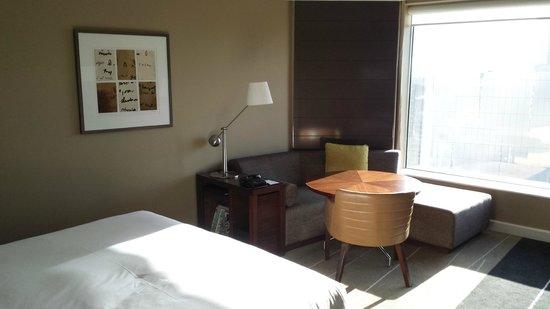 Grand Hyatt Melbourne: Lounge/Work Desk