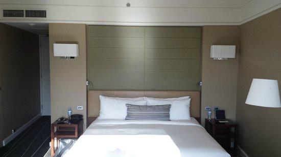 Grand Hyatt Melbourne: Bed
