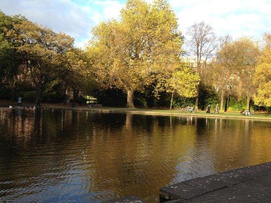 Parque St Stephen's Green: St.Stephens Green Park, Autumn 2012