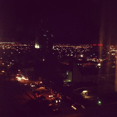 Park Inn by Radisson San Jose: Night time view from 7th Floor