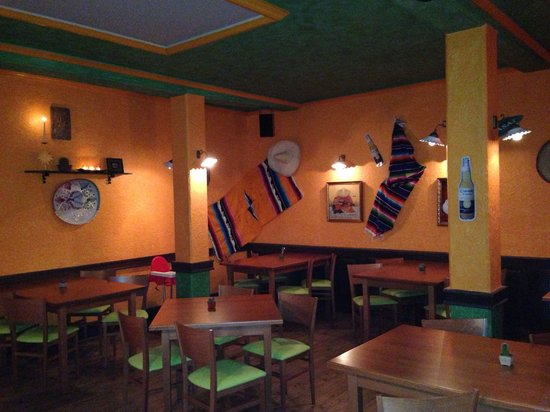 El Restaurante Mexico: Interior