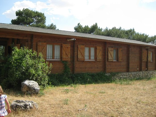 Cabanas Llano de los Conejos: Casa pinosilla