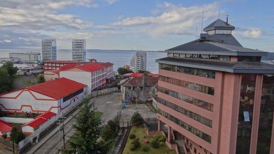 Hotel Manquehue Puerto Montt : desde la habitacion 1008