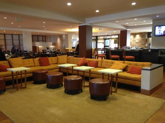 DoubleTree by Hilton San Francisco Airport : The Lobby