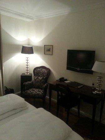 Gutwinski Hotel: Vue depuis le lit