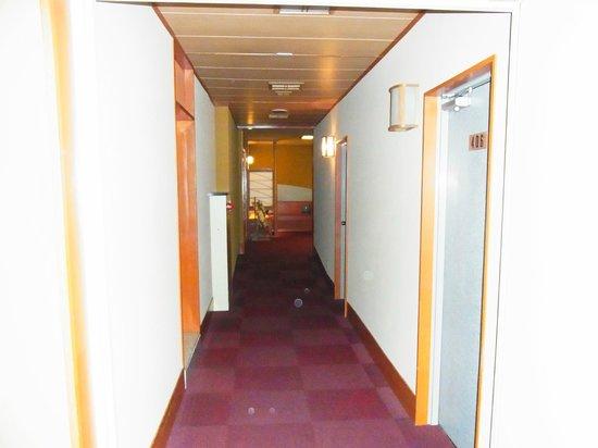 Shikanoyu Hotel : 廊下