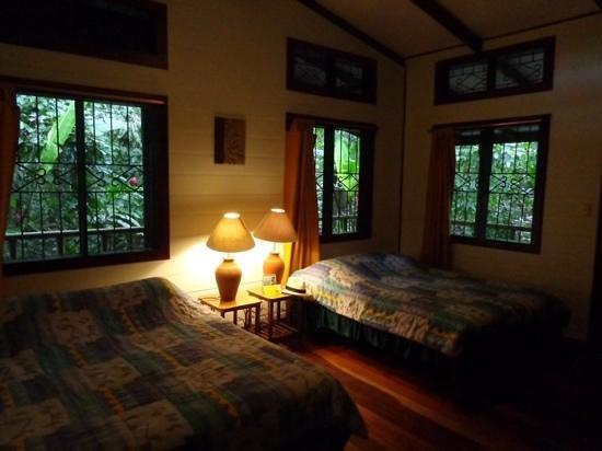 chambre au Pachira Lodge